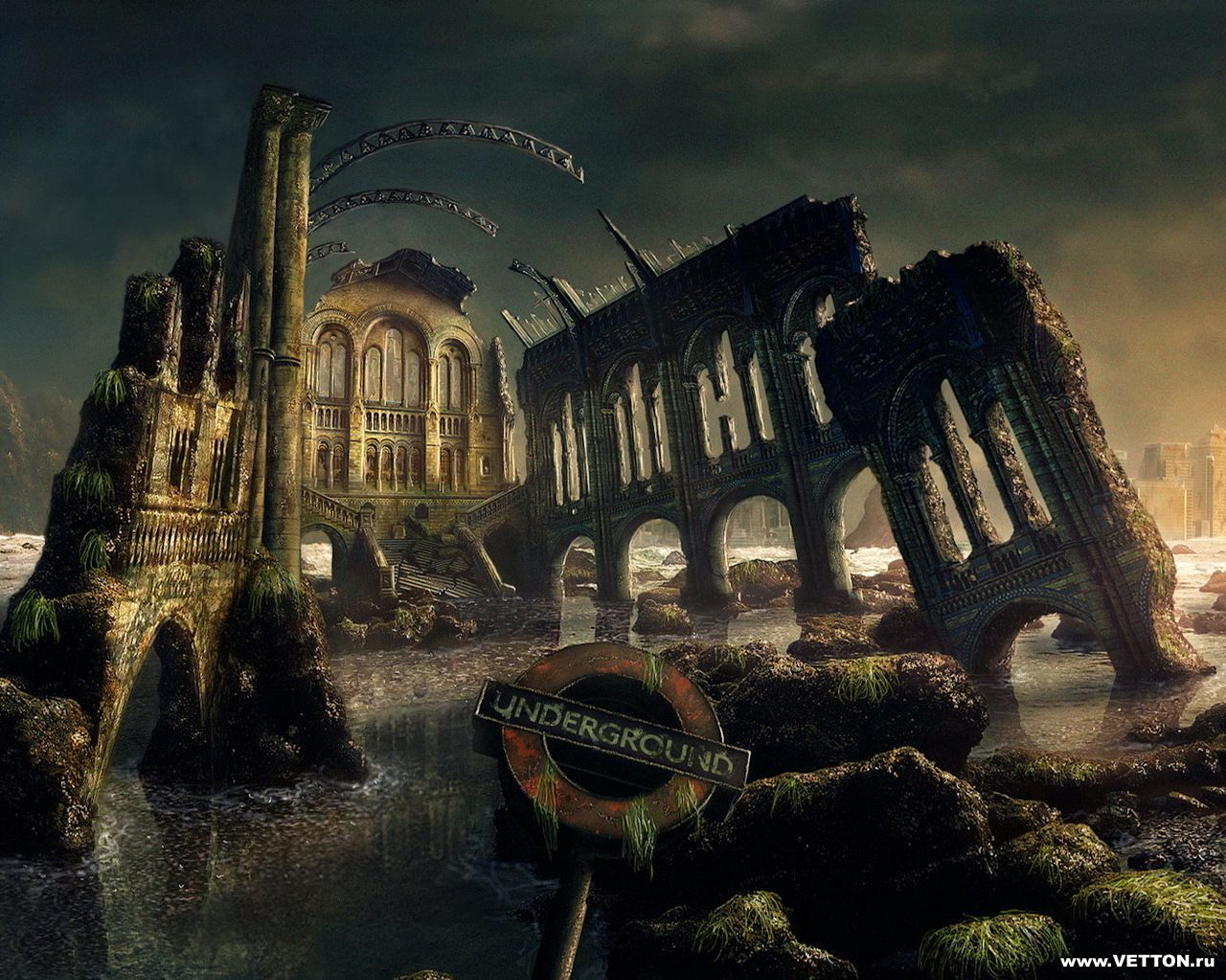 Обложка произведения 'Сталкер-ночь человечества'