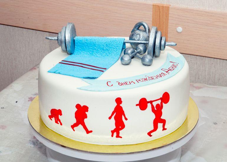 Торт для спортсмена фото