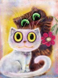Обложка произведения 'Кастальские коты (Цикл стихов)'