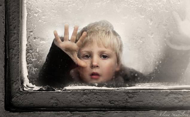 Обложка произведения 'Мальчик у окна'