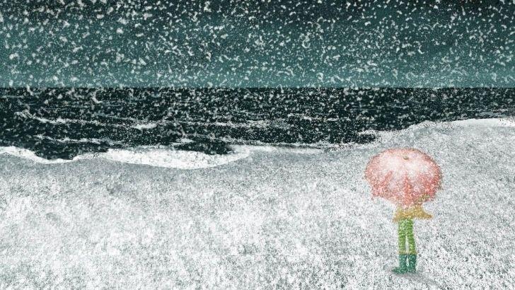 аватарка дождь: