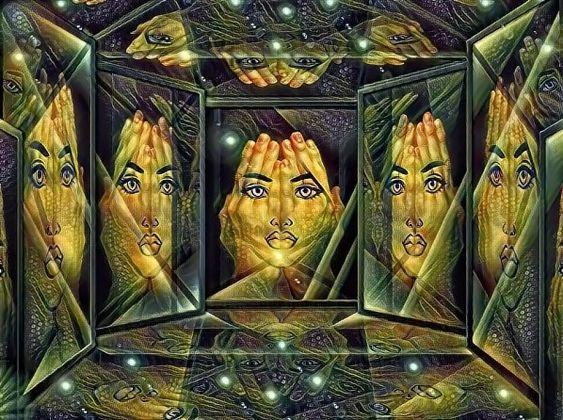 Обложка произведения 'Зеркала и отражения'
