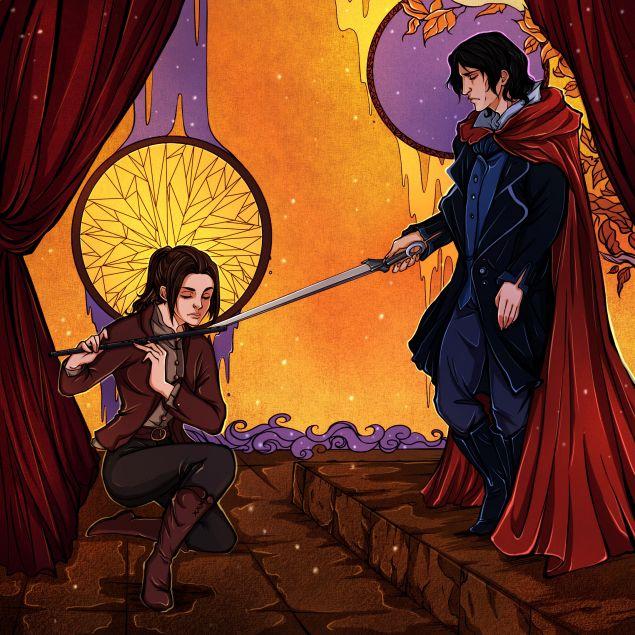 Обложка произведения 'Игра Лиара. Лёд, флейта, меч'
