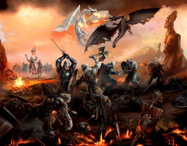 Обложка произведения 'Последняя битва'