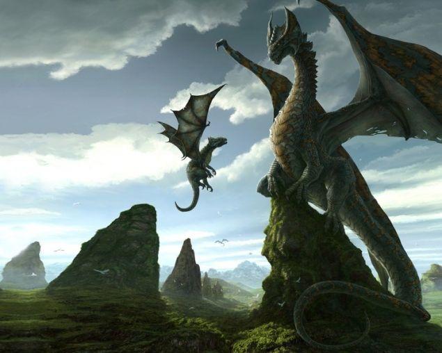 Обложка произведения 'Долина драконов'