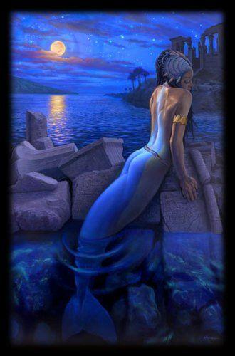 Обложка произведения 'The Mermaid'