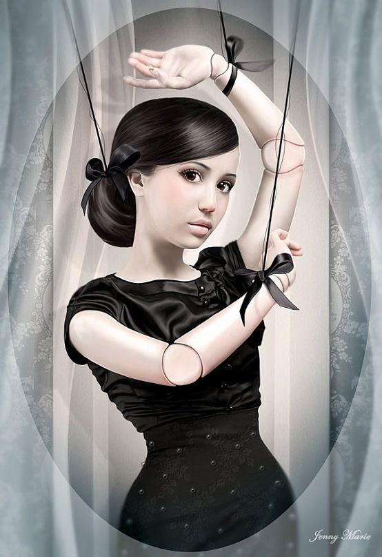 Обложка произведения 'Куклы'