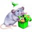С Годом Мыши! Доброй и весёлой!