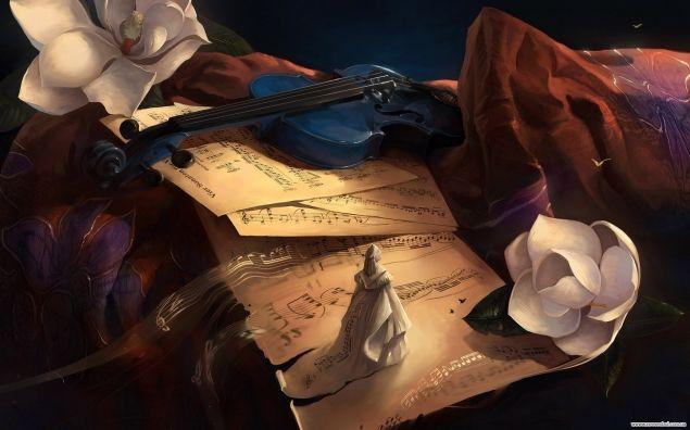 Обложка произведения 'Флейта, скрипка и новые миры'
