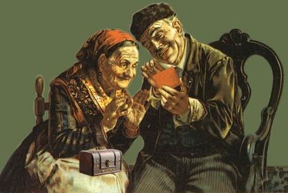 Обложка произведения 'Дед да баба'