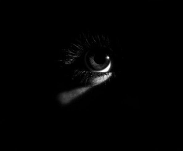 Обложка произведения 'В темноту'