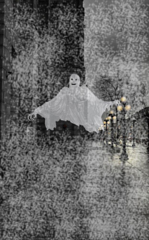 Обложка произведения 'Жуткая история'