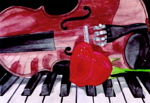 Обложка произведения 'Мелодия любви'