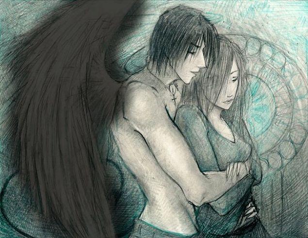Обложка произведения 'Падший ангел'