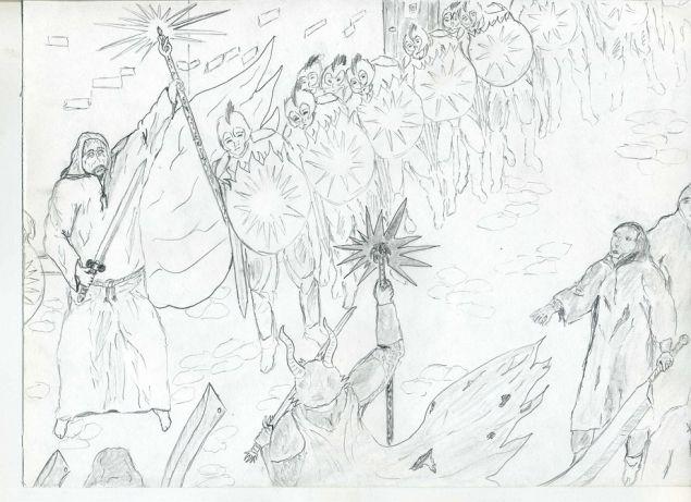 Обложка произведения 'Лилия теней'