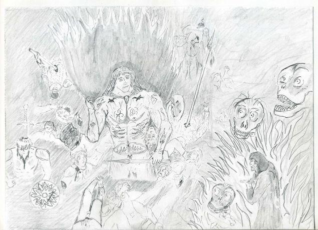 Обложка произведения 'Сторг-Не мертвая голова'