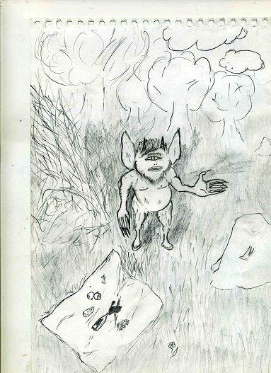 Обложка произведения 'Геннадий - черт третьего ранга'