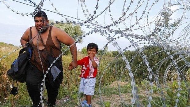 Обложка произведения 'Американизм 001. Мигрант.'