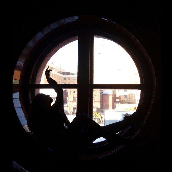 """Обложка произведения 'Вечер третий. """"Вечера у круглого окна на Малой Итальянской...""""'"""