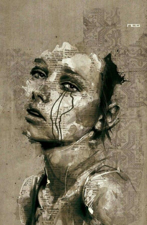 Обложка произведения 'О слезах...'