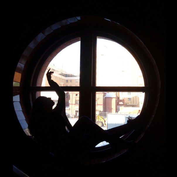 """Обложка произведения 'Вечер шестьдесят девятый. """"Вечера у круглого окна на Малой Итальянской...""""'"""