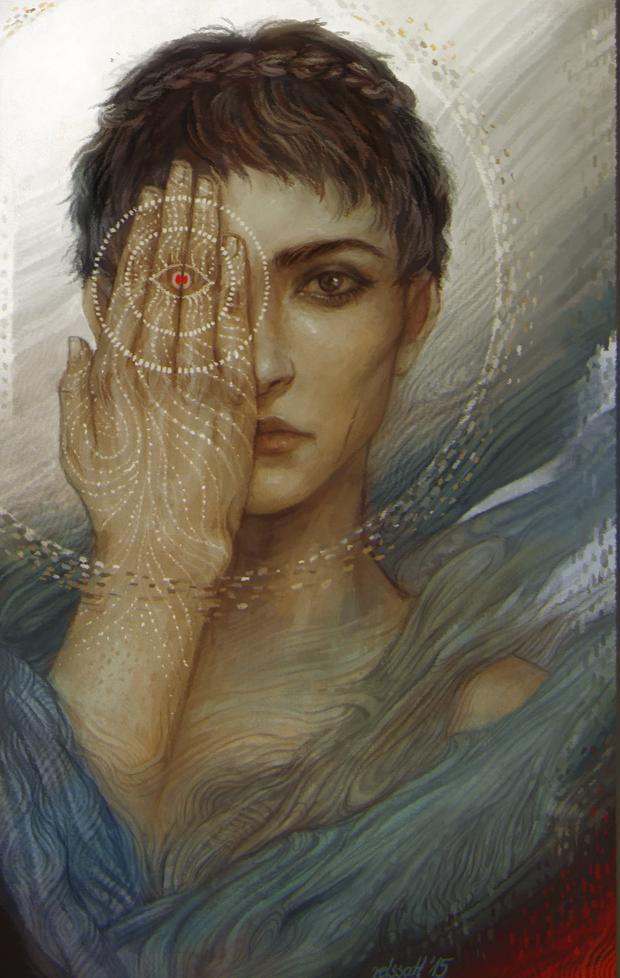 Обложка произведения ′Я - Кассандра... Четвертый всадник.′