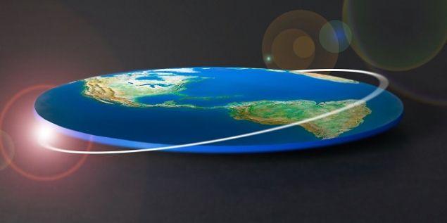 Обложка произведения 'Плоская Земля'