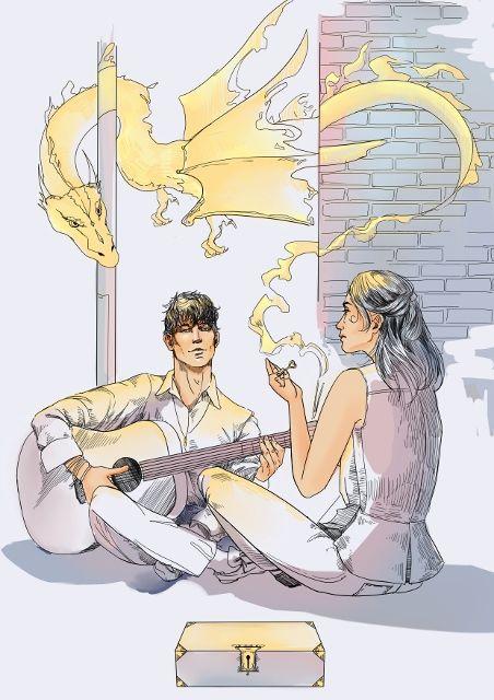 Обложка произведения 'Песня золотого дракона'