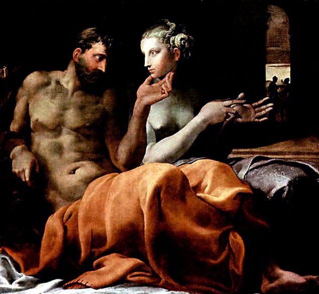 Обложка произведения 'Одиссей и Пенелопа'