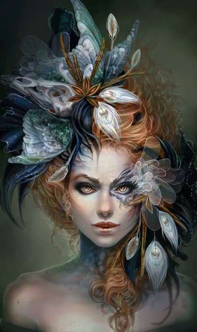 Обложка произведения 'Шаманский цветок'