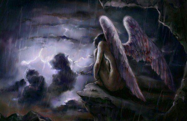 Обложка произведения 'Безликий ангел'