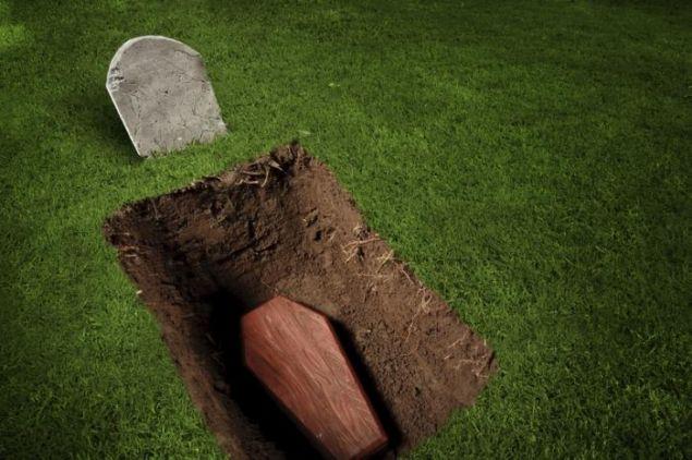 Обложка произведения 'Верните мой гроб'