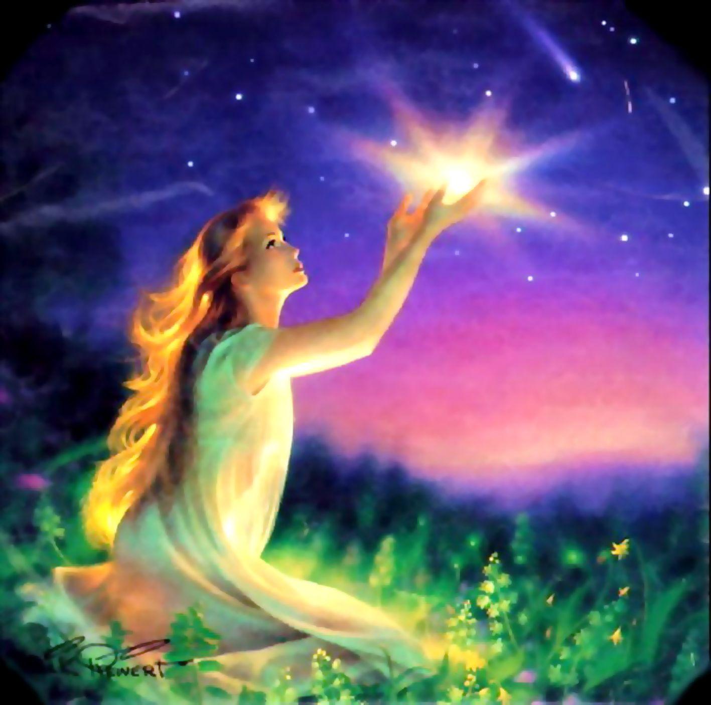 Говорит звезда:зажгу свет