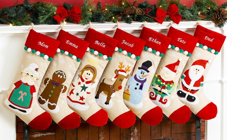 Носочки для подарков своими руками