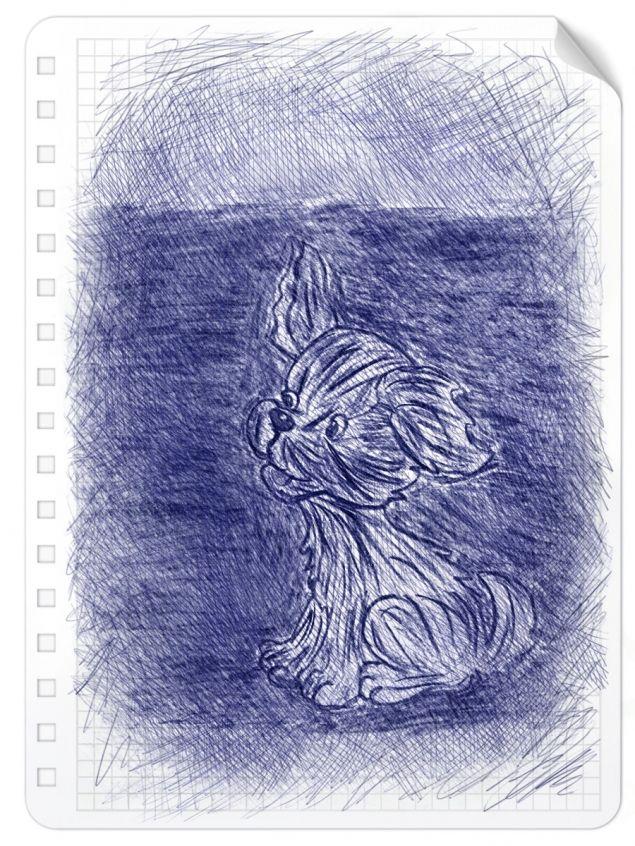Обложка произведения 'Про Лару и темноту.'