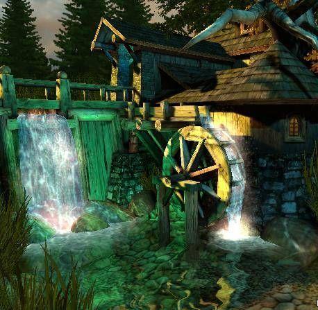 Обложка произведения 'Водяная мельница'