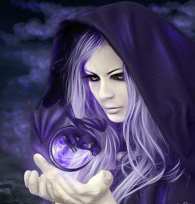 Обложка произведения 'Глядела ведьма в зеркало златое'