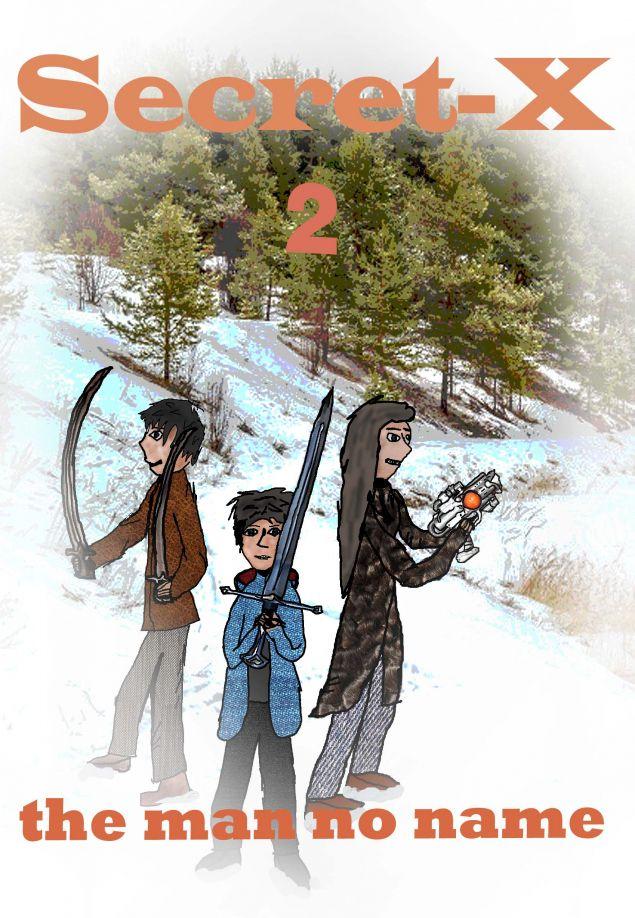 Обложка произведения 'Секретный-икс 2. Человек без имени.'
