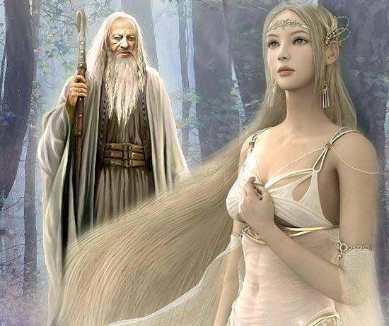 Обложка произведения 'Сказка о чёрном колдуне и о его любви'