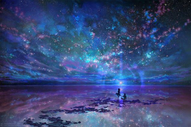 Обложка произведения 'Мы - как звезды'