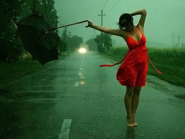 Обложка произведения 'Облака несли в подолах дождь'