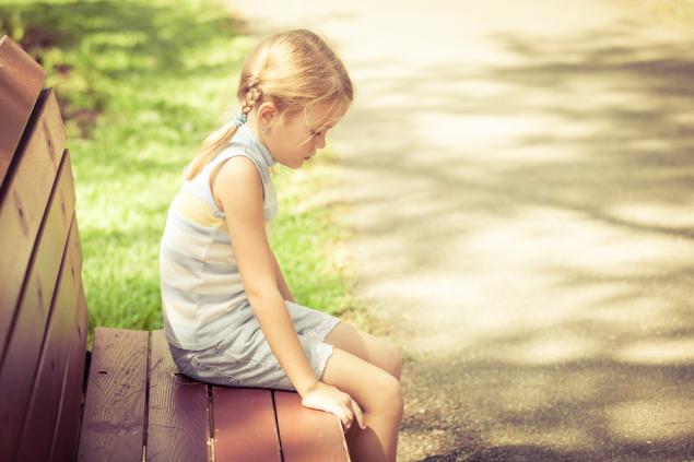 Обложка произведения 'В парке плакала девочка'