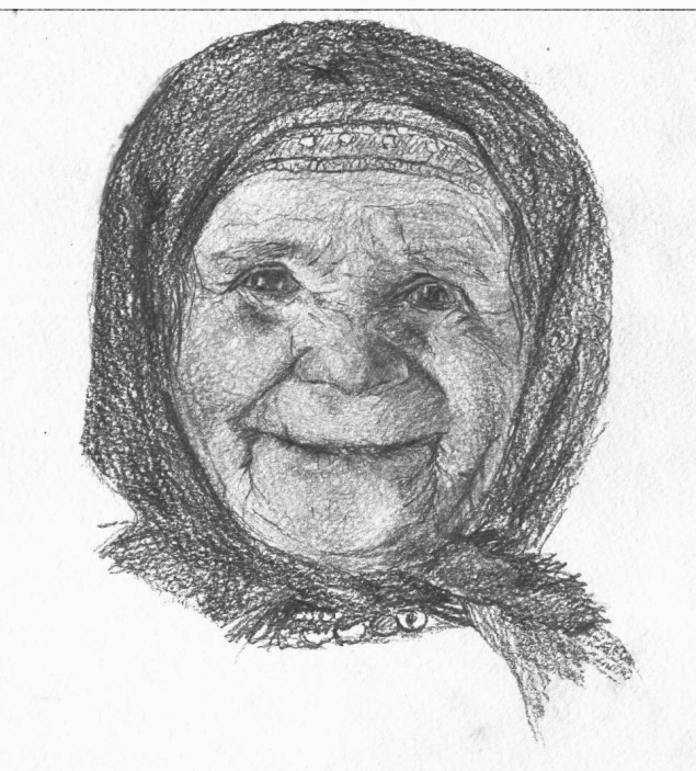 Обложка произведения 'Как баба Люся замаливала грехи'
