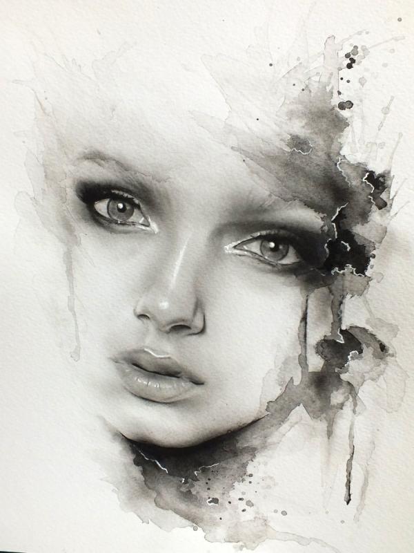 Обложка произведения 'черно- белая мелодрама'