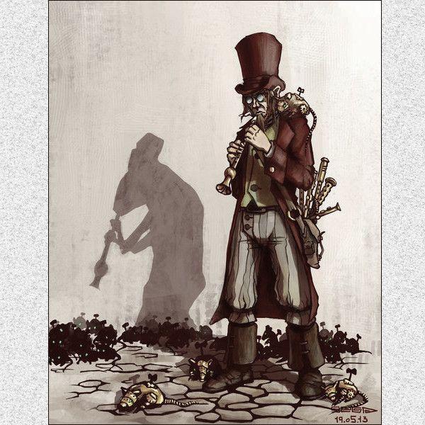 Обложка произведения 'Крысолов'
