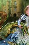 """Обложка СКАЗКИ ПРО ТАМАРУ сказка """"Папины драконы"""""""