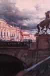 Обложка Аничков мост. Впечатление.