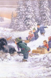 Обложка Зимний праздник.